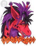 Solitaire - badge style by ZhaKrisstol