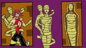 Cutie Honey mummy trouble by nepht