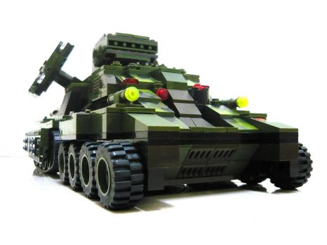 Lego Mirage Tank 'Mix' 7 by SOS101