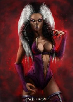Sindel - Queen of Edenia. by flavioluccisano