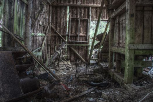 Lost Place III by HenningOL