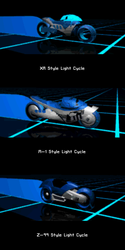 Alt Light Cycles from Tron 2.0: Killer App for GBA by Mister-Julius