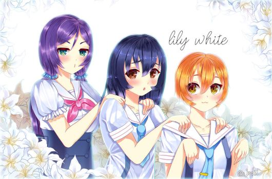 lily white by Jadiil