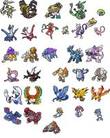 All 33 Legendary Pokemon
