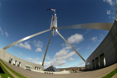 Parliament House flag 3 by imroy