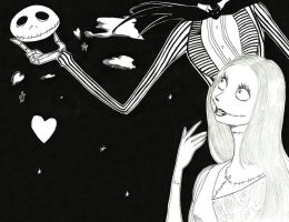Jack/Sally - Get the moon for you by Blychee
