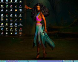 Desktop 25 October 2005 by KayoteWolfrose