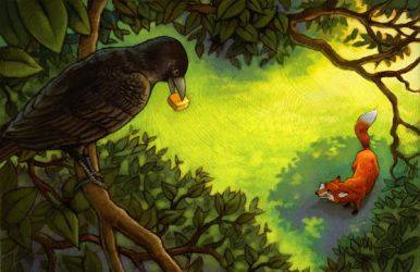 The Fox and the Crow by CAMartin