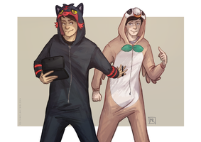 Pokemon onsies by MichaelaKindlova