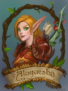 blizzcon badge commission by lowly-owly