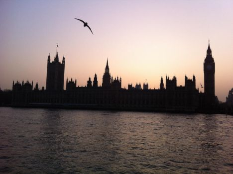 London by almost night by tursiops33