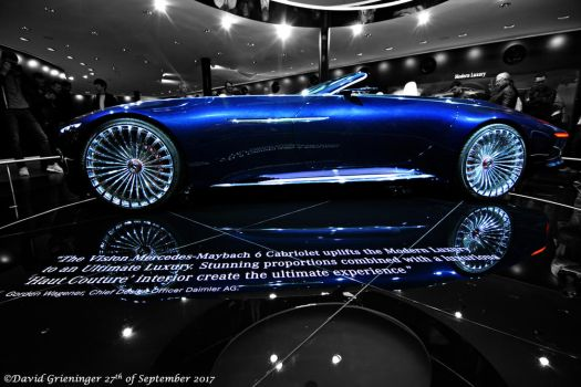 Vision Mercedes-Maybach 6 Cabriolet by DavidGrieninger