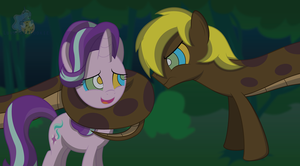 Starlight meets Mesme by LunaHazACookie
