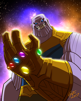 Thanos by jonathanserrot