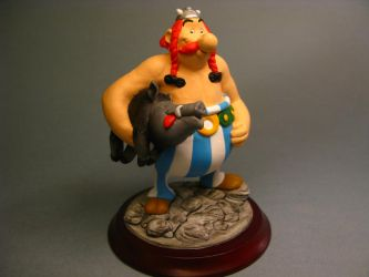Obelix sculpture COLOR 1 by yotaro-sculpts