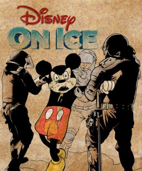 Disney on 'Ice' by mrdenmac