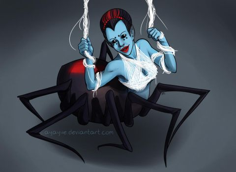 06 - Spider Girl 25 - Trouble Lurking Monsterx100 by Ayayue