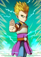 Commission: Cabba SSJ2 (Dragon Ball Super) by Deyvidson