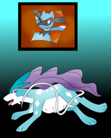 Chilling in A Suicune's belly. by Zoruaofepic