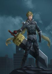 Cloud - God Eater Level 1 by kaerulum