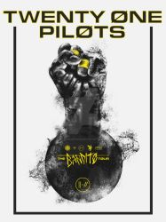 Twenty One Pilots Poster by Amacdesigns