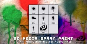 Go Media Spray Paint PS Brush by gomedia