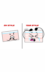 Notecard ur sytle-my style by BerryArtBFB