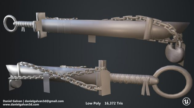PS   SHEATH - LowPoly by GalivanPrime