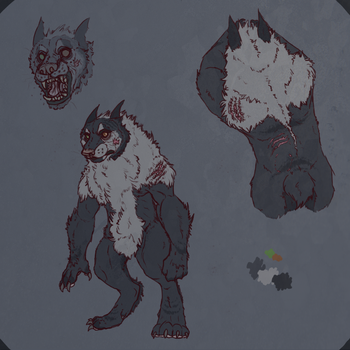Codec Werewolf Reference by Ziddacus