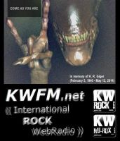 KWFM.net _ H. R. Giger (COME AS...) by KWFMdotnet
