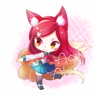 Academy Ahri by MizoreAme