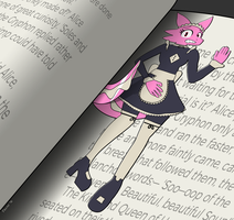 Charlotte the Bookmark by RubberFrump