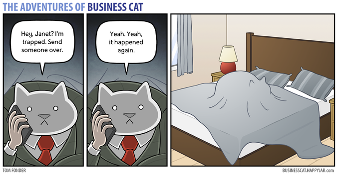 The Adventures of Business Cat - Trapped by tomfonder