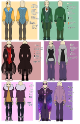 Gaster Refrence Sheet by Bunnymuse