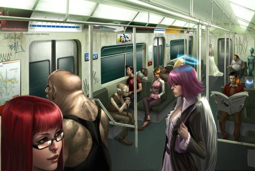 Subway by whmurai