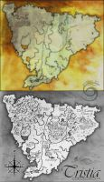 Tristia Map Commission by calthyechild
