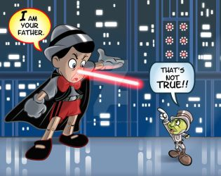 Pinocchio/ Empire Strikes Back mashup by brettbennett