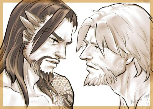 Hanzo and Mccree by berman1983