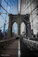 Brooklyn Bridge New and Old by peterjdejesus