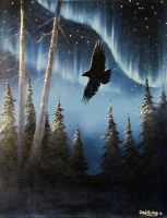 Spirit of the Northern Skies by donald-alaskanartist