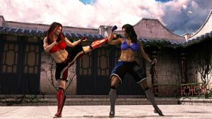 A Sparring Match 00 by Drusatis