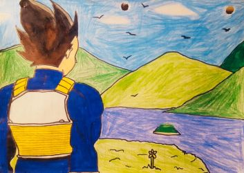 A Saiyan Prince In The Mountains by CHIBOY622