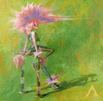 PINK | The Punk Poodle by Apolar