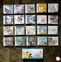 Pokemon games (NDS and N3DS) by Ishtar-Creations