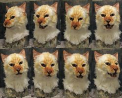 Makaveli cat mask by Crystumes
