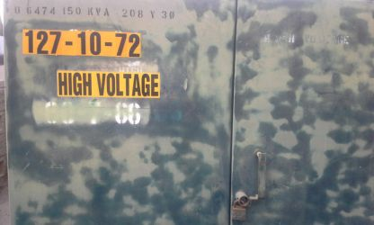 High Voltage by xmanmonk