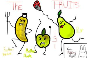 the FRUITS -Color-In- by xXxAbyssQueenxXx