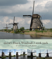 Dutch Windmill 3 stock pack by dierat-stock