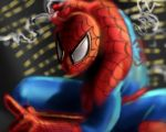 spiderman speedpainting by dylanliwanag