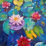 Water_flowers by Lusidus